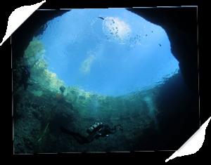 Dykning Bue Hole Malta