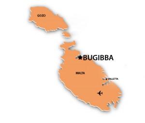 I Bugibba finns flera Hotell Malta